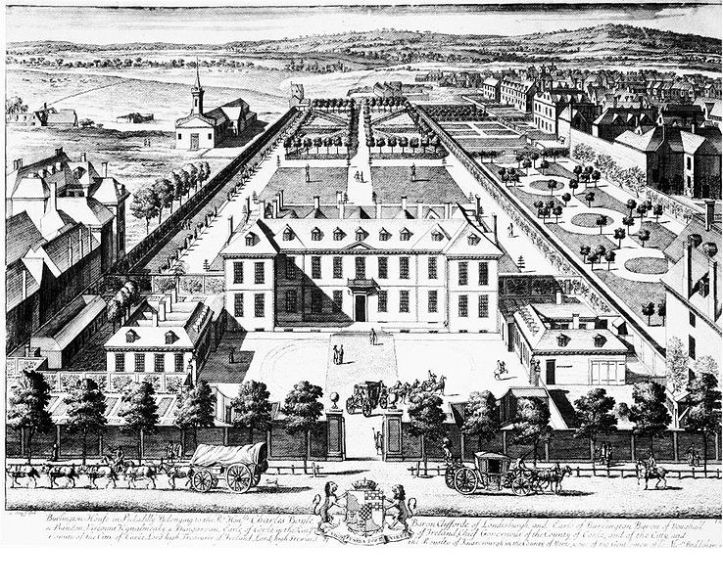 Burlington House, 1698-99
