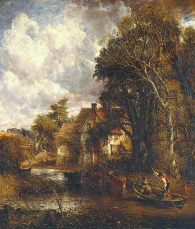 Constable, The Valley Farm, 1835