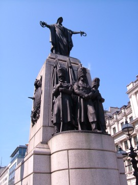 The Guards' Memorial in Waterloo Place