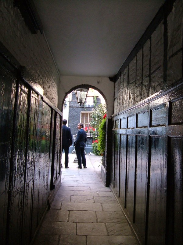 Pickering Passage, leading to Pickering Place