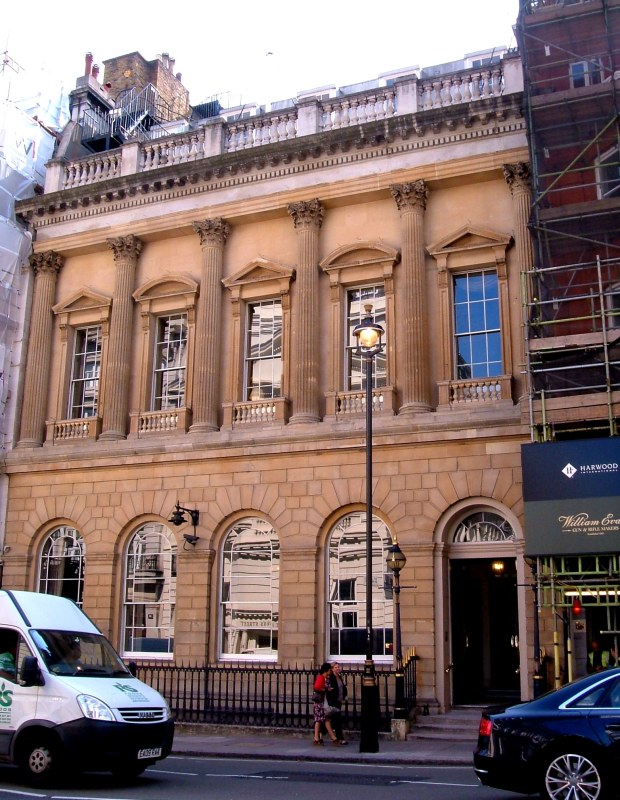 The Carlton Club, 69-70 St James's Street
