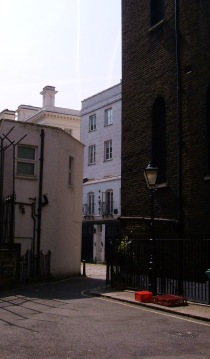 Entrance to Russell Court