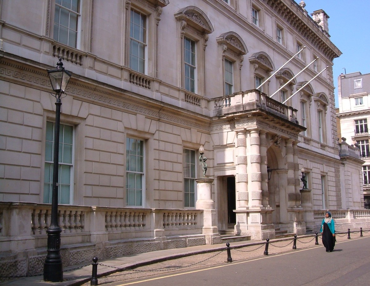 Bridgewater House in St James' Place