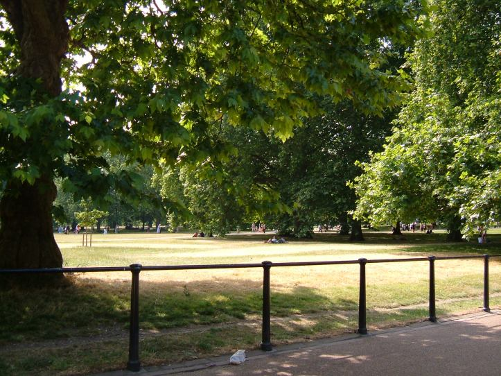 Green Park from Queen's Walk