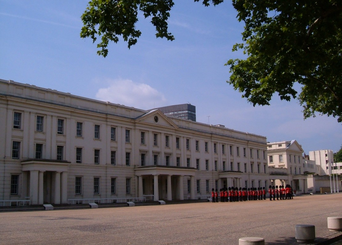 The Wellington Barracks, Birdcage Walk