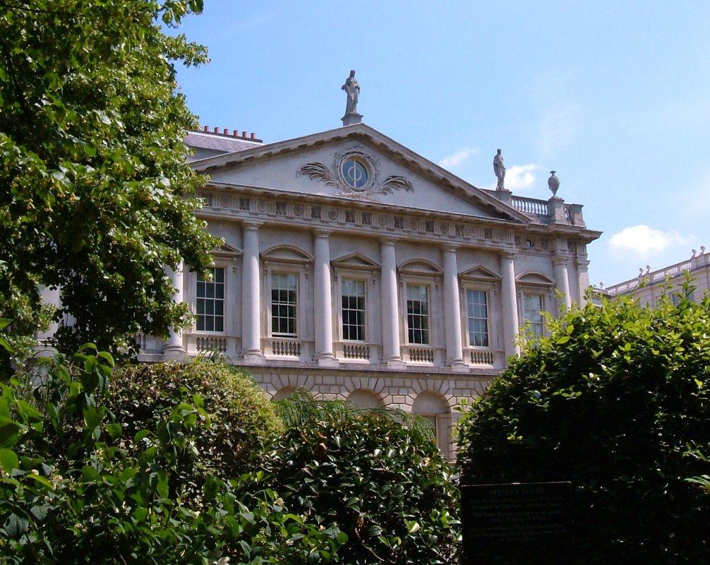 Spencer House from Green Park