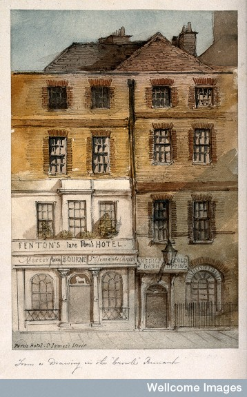 Fenton's Hotel and the Medical Cold Baths, probably 18th century
