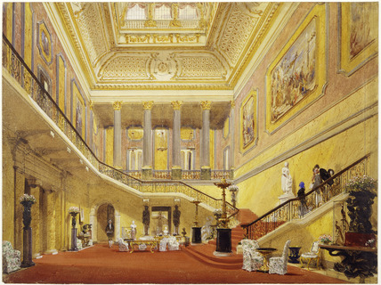 Lancaster House, the grand staircase, John Nash, 1850
