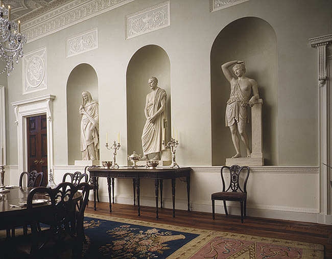 Lansdowne House, another view of the Dining Room