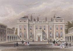 Marlborough House in the 1850s