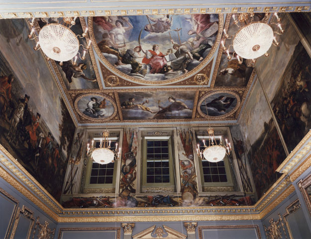 Ceiling in Marlborough House, as conserved by Feilden and Mawson