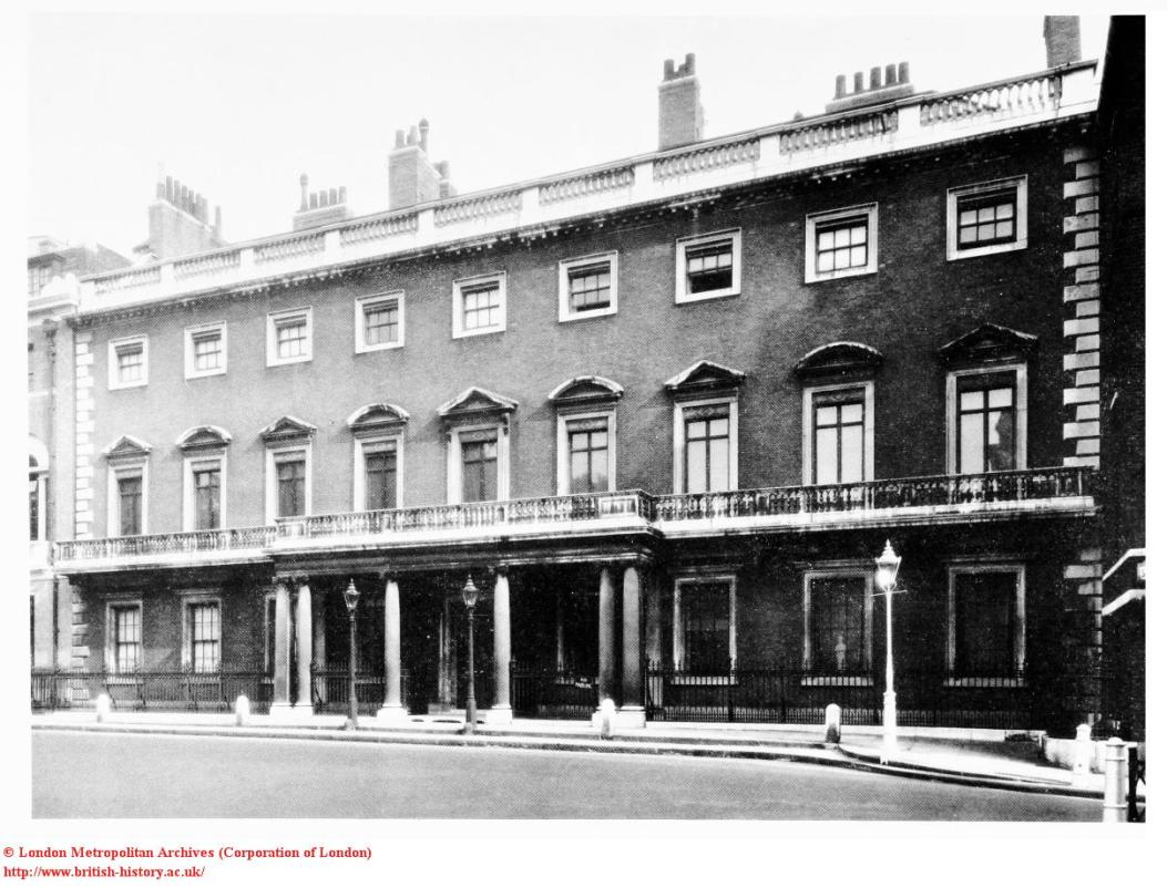 Norfolk House, St James's Square in 1932