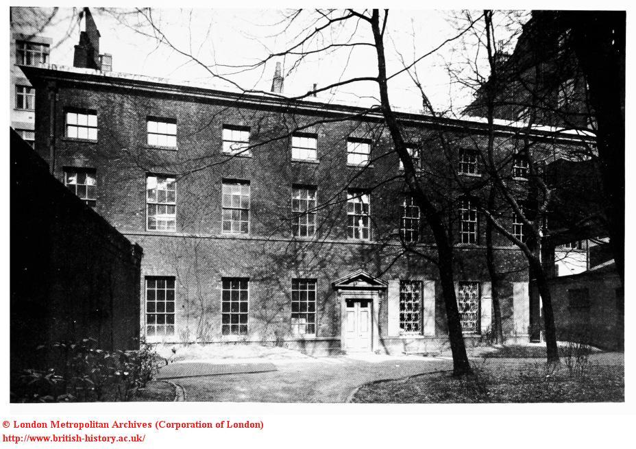 Norfolk House, the garden in 1932
