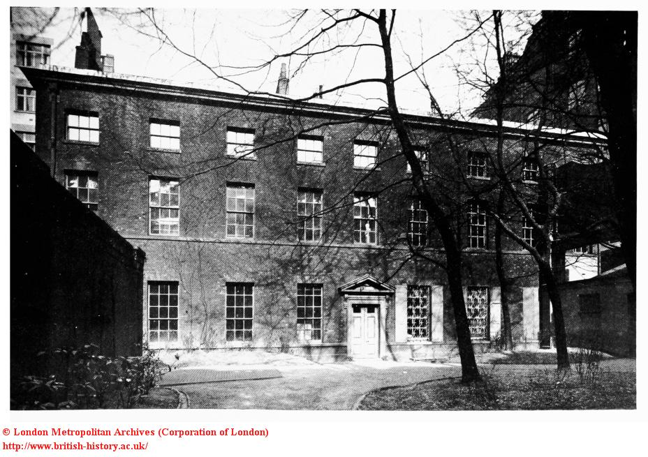 Norfolk House, the garden in 1932