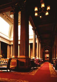 Reform Club interior
