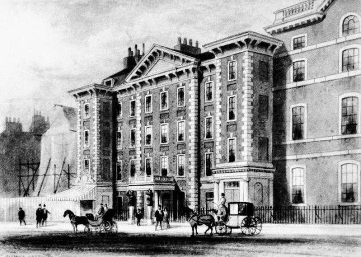 Schomberg House, c.1850