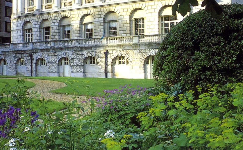 Spencer House gardens as restored byTodd Longstaff-Gowan