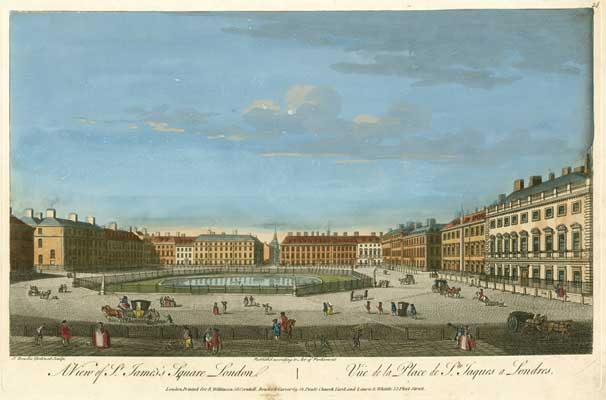 St James's Square, 1753