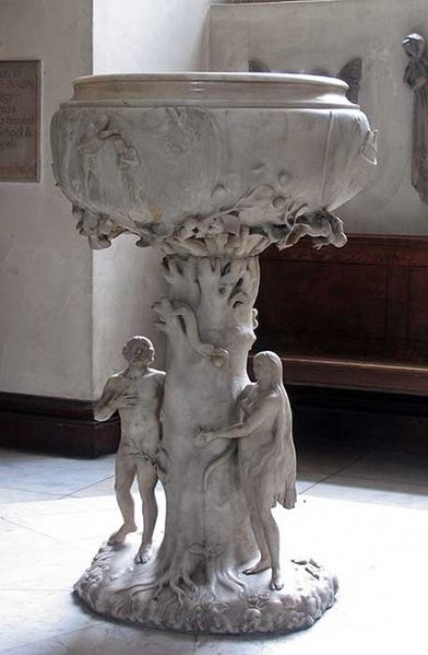 Grinling Gibbons's font, St James's, Piccadilly