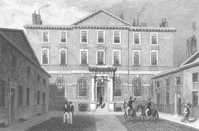 The Albany, 1830, by Thomas Shepherd