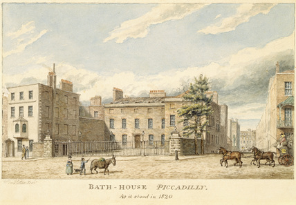Bath House, 80 Piccadilly, Lord Ashburton's London residence