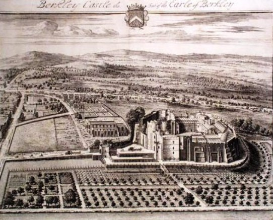 Berkeley Castle, 1712, by Jan Kip
