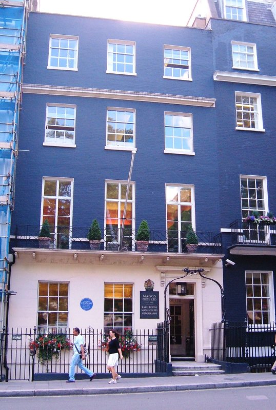 No.50 Berkeley Square, Maggs Bros