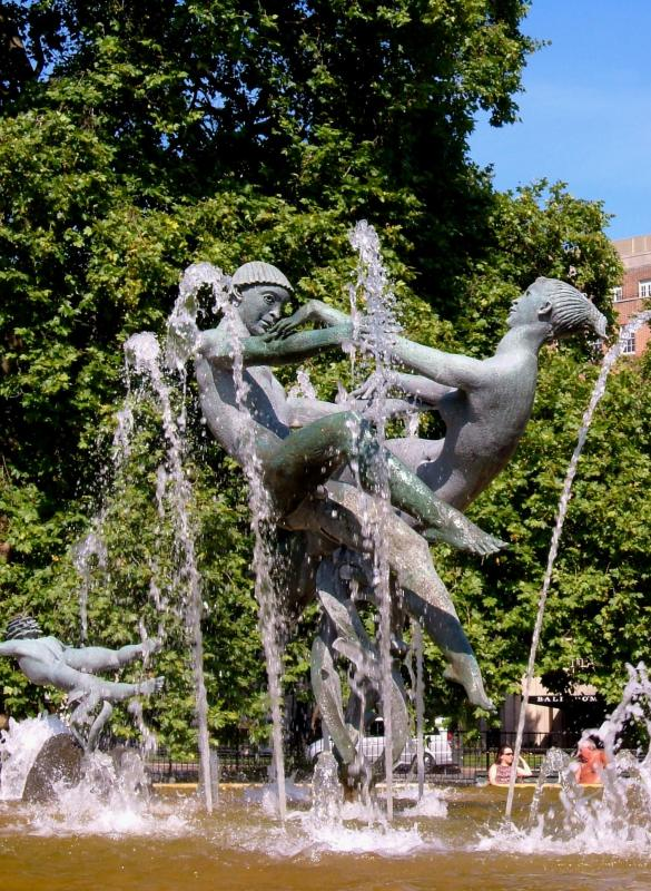 Joy of Life fountain, Hyde Park