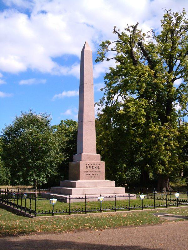 The Speke Memorial, 1866