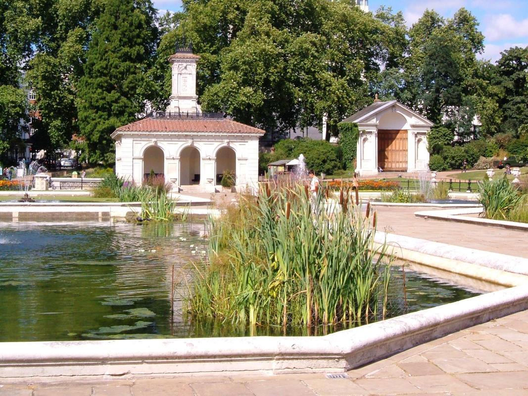 The Italian Garden, Kensington Park