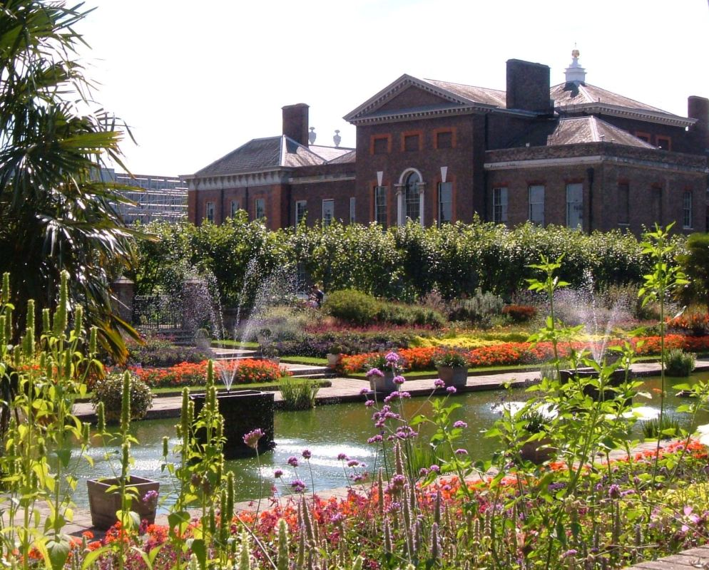 Gardens in Kensington Palace