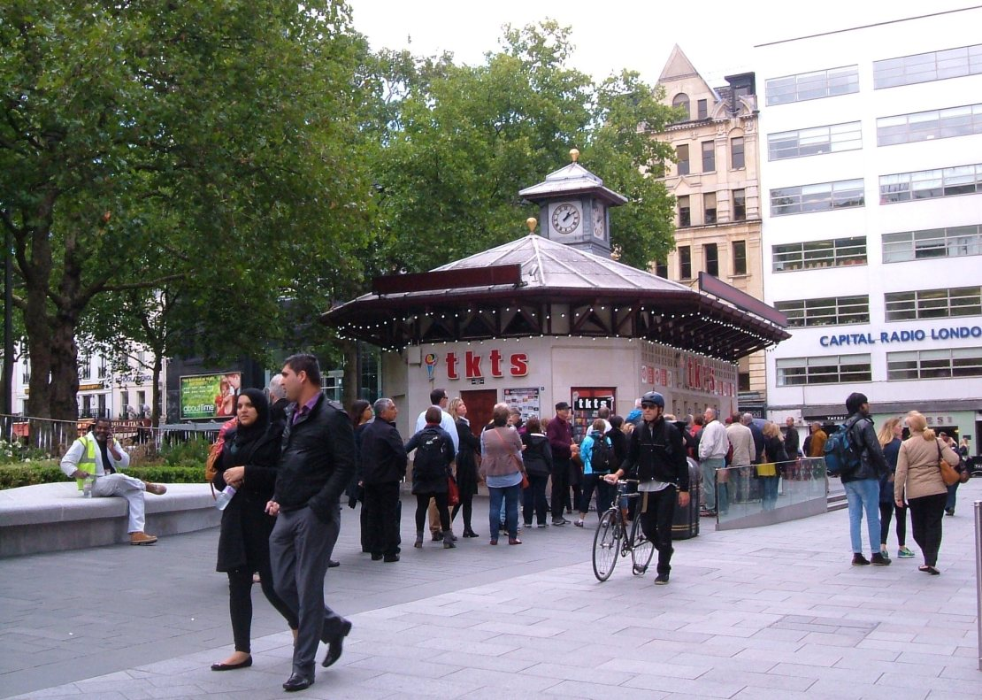 Leicester Square today