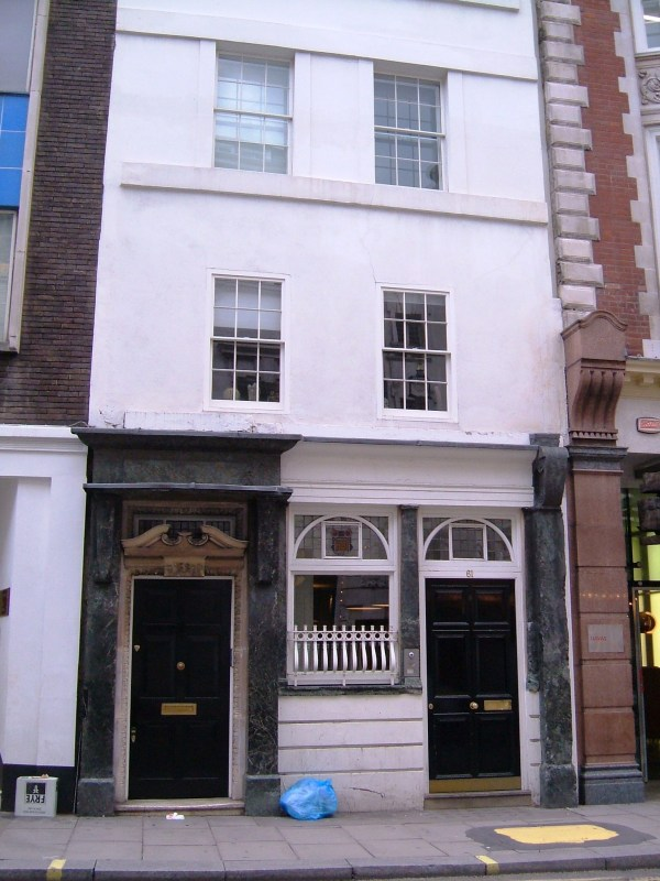 No.61 St Martin's Lane
