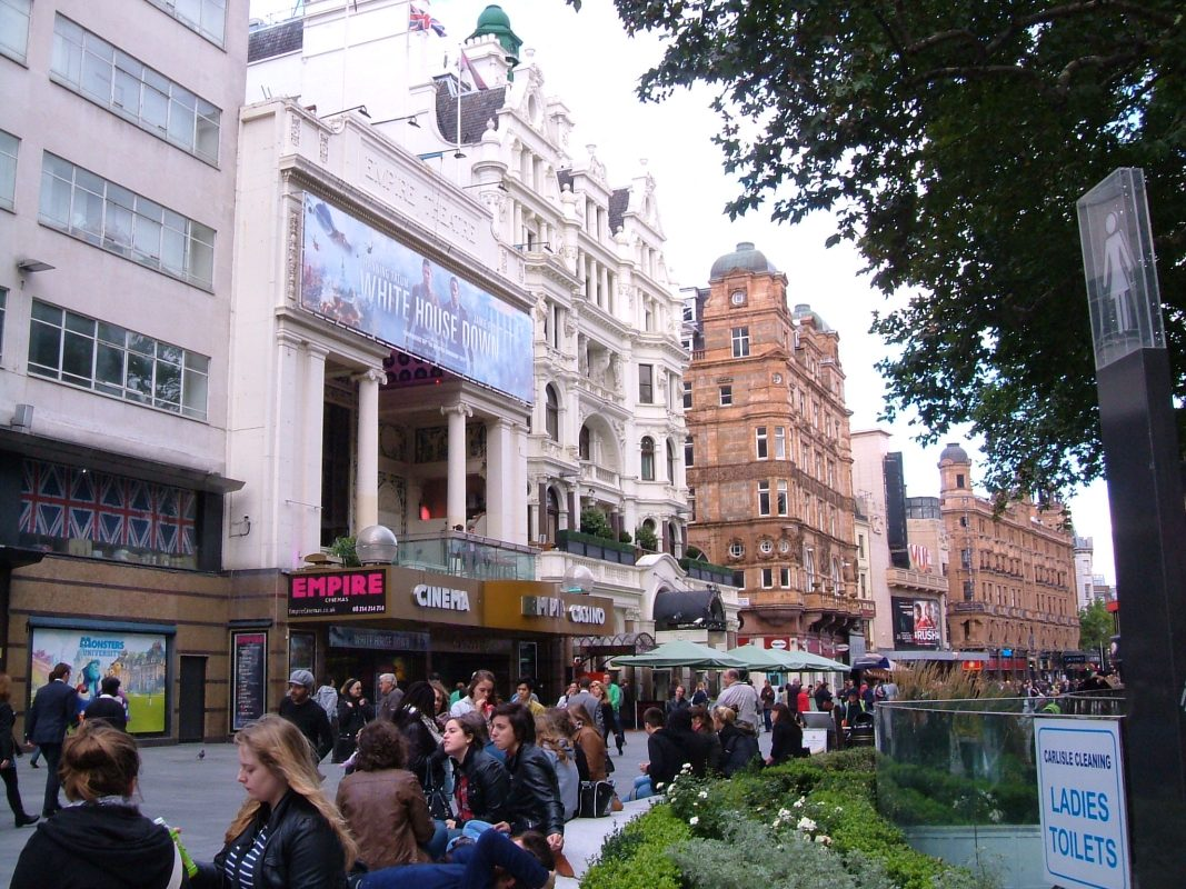 Leicester Square, north side