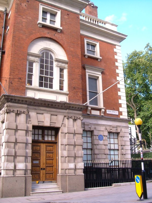No.21 Hanover Square, once the residence of Prince Talleyrand