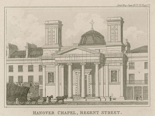 Hanover Chapel, Regent Street, London