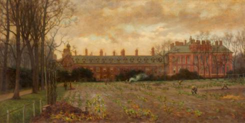 Kensington Palace allotments during WWI