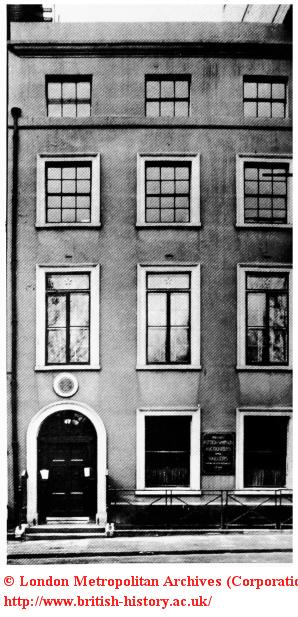 No.47 Leicester Square, Sir Joshua Reynolds' home (demolished)