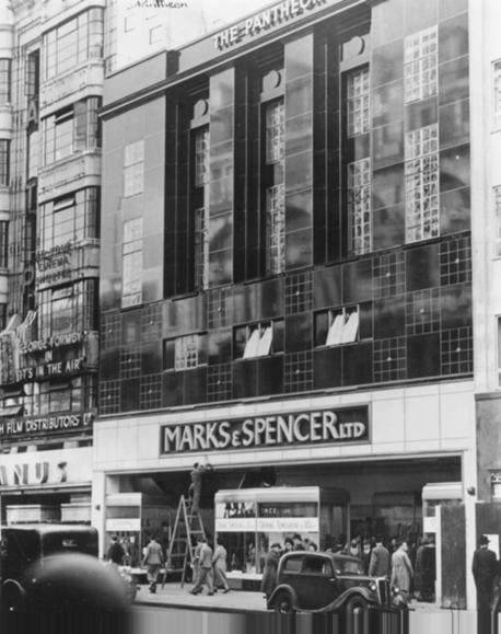 M&S building of 1938, Grade II listed, to replace the Pantheon