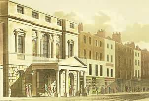 Pantheon, Oxford Street, from Papworth's Select Views, 1816