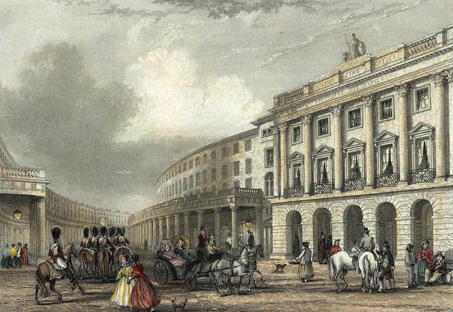 The Quadrant, Regent Street, 1837