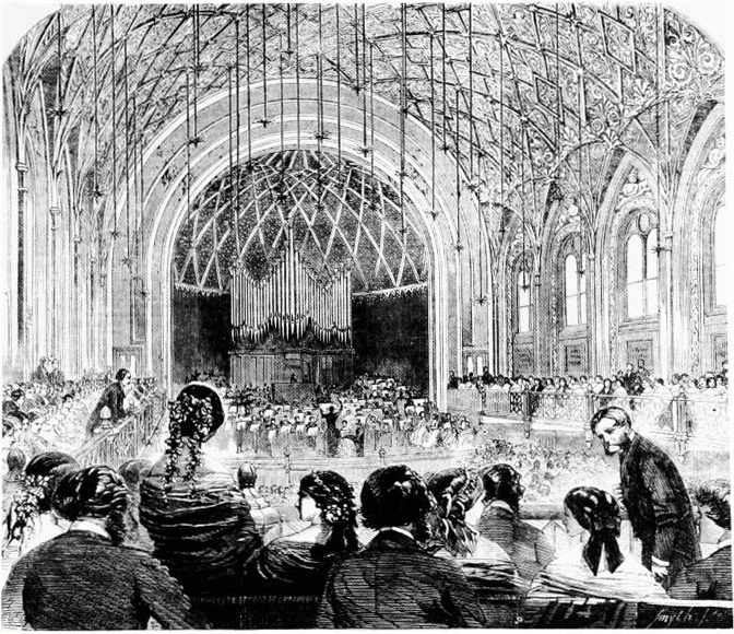 St James's Music Hall, 1858