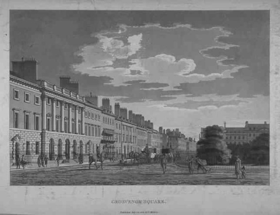 Grosvenor Square, 1800