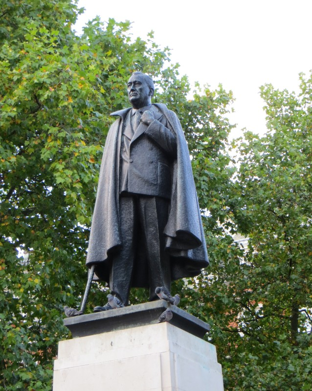 Franklin Delano Roosevelt in Grosvenor Square