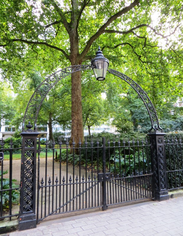 Entry to Portman Square