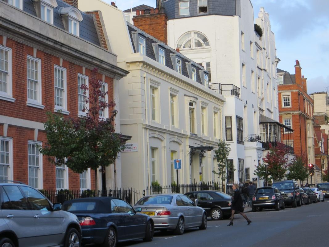 Residential housing in Devonshire Street