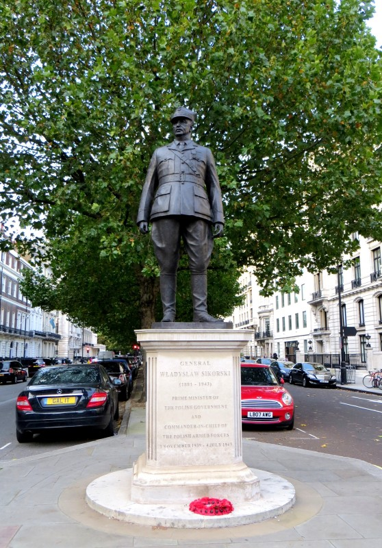 General Sikorski in Portland Place