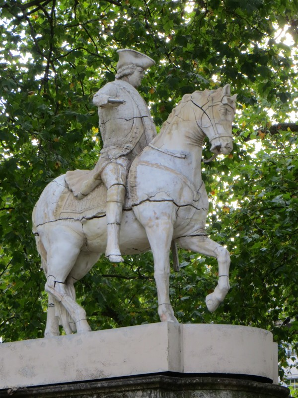 Soap statue of the Duke of Cumberland