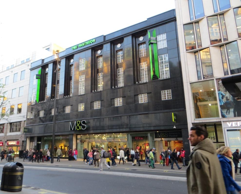 M&S today