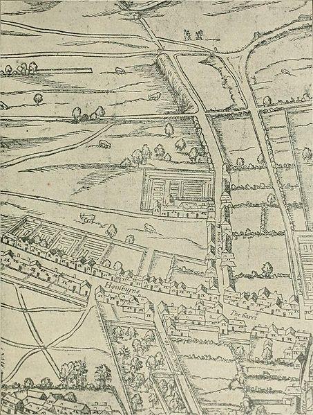 Gray's Inn, 1591, Agas